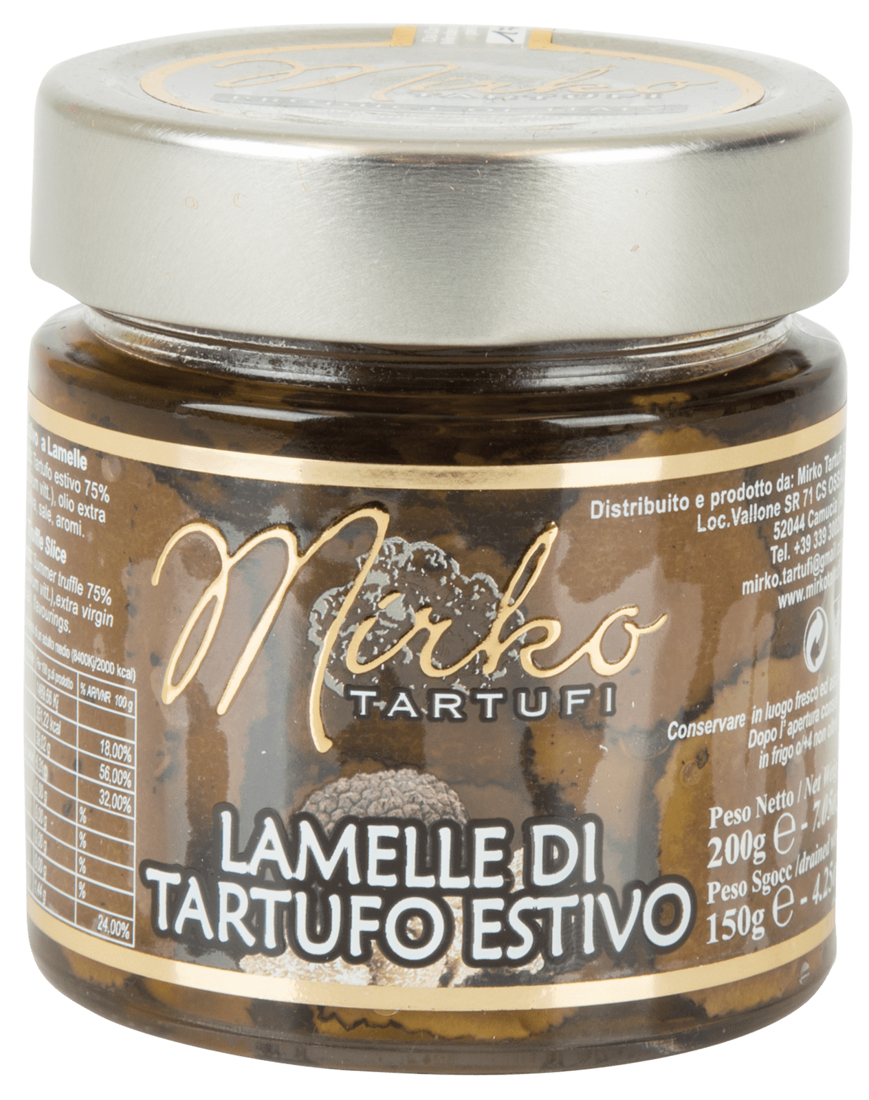 Mirko Tartufi | Lamelle di tartufo nero estivo
