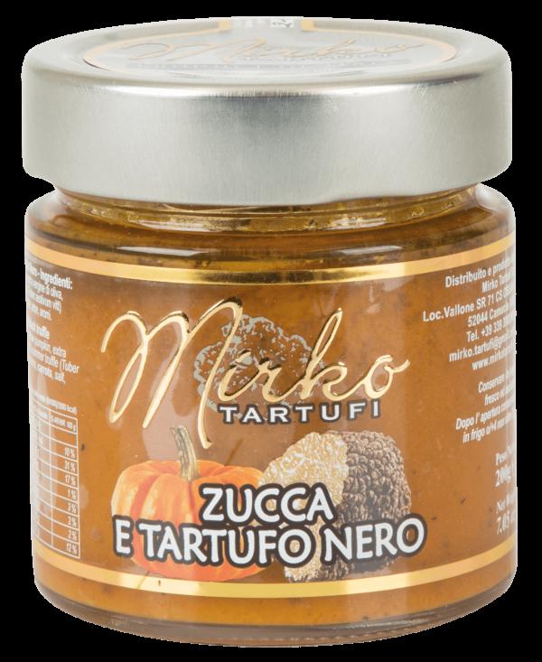 Mirko Tartufi | Crema di Zucca e Tartufo Nero