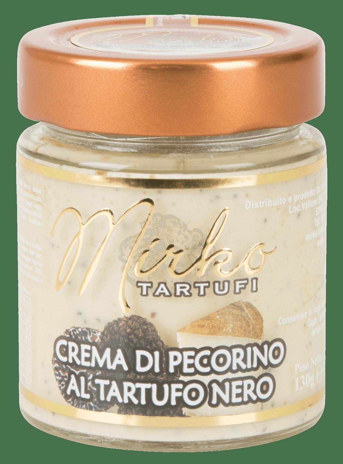 Mirko Tartufi | crema di pecorino al tartufo nero