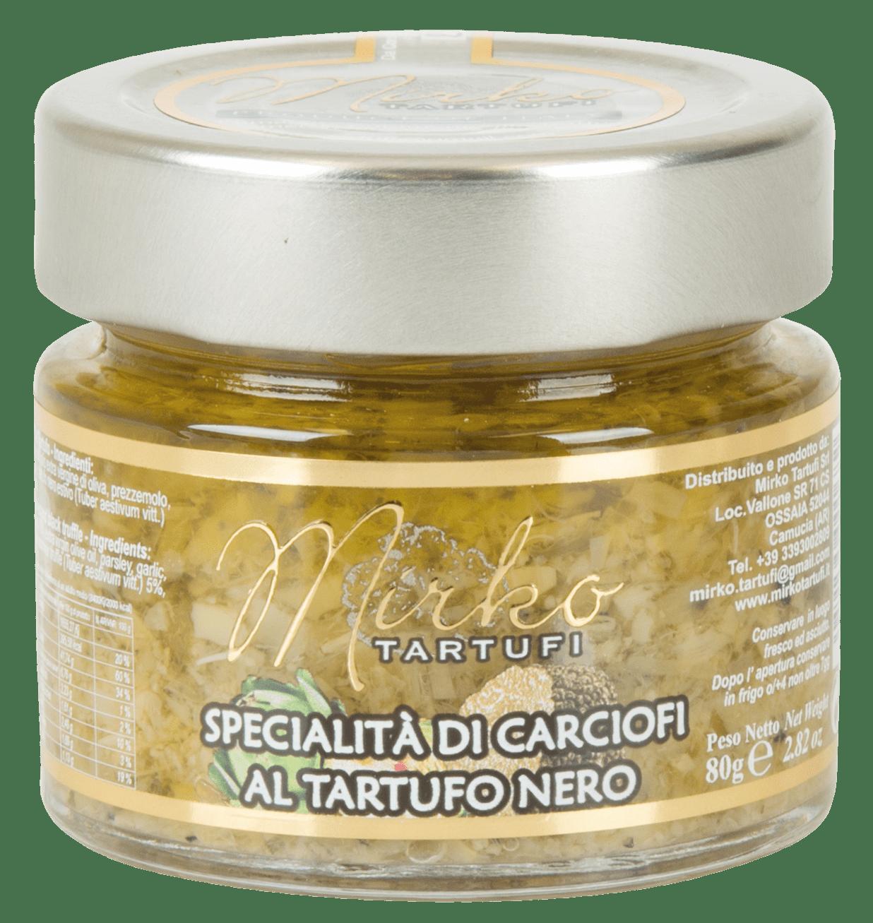 Mirko Tartufi | Specialità di Carciofi e Tartufo